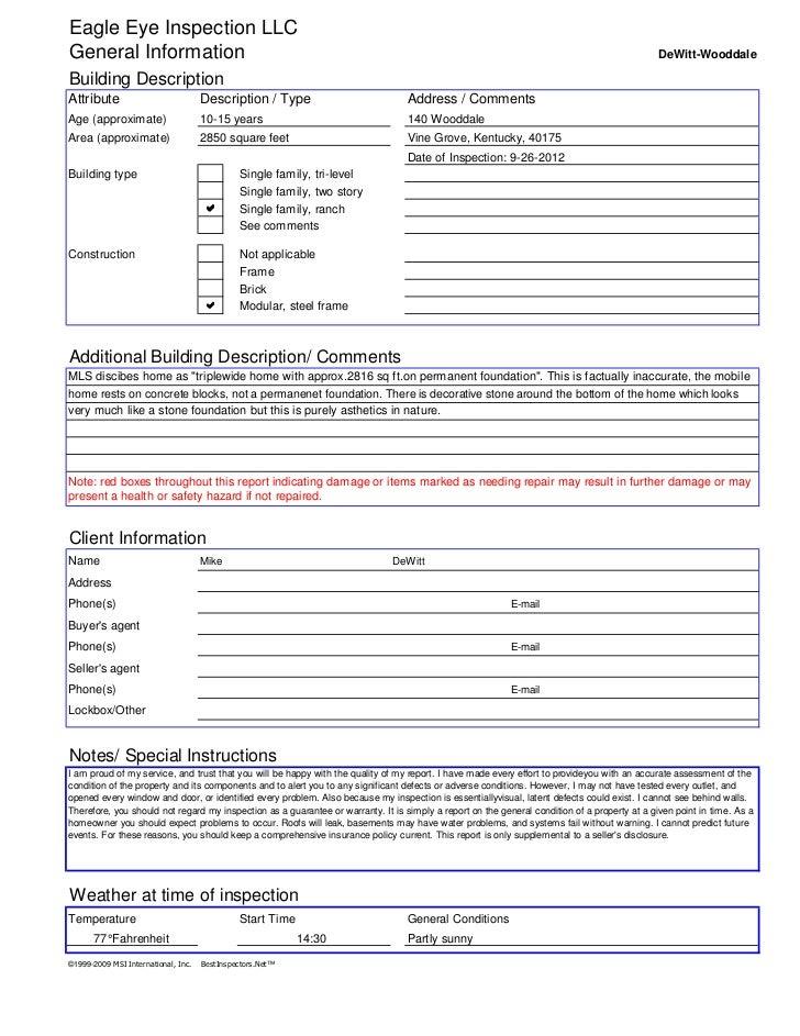 Eagle Eye Inspection LLCGeneral Information                                                                               ...