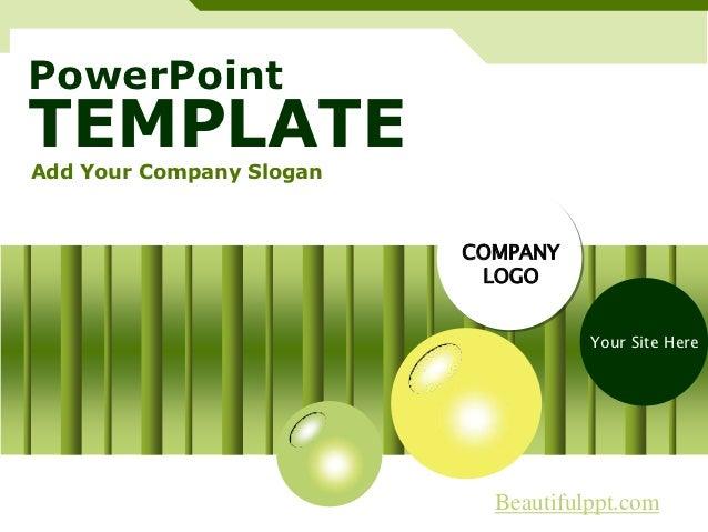 PowerPointTEMPLATEAdd Your Company Slogan                          COMPANY                           LOGO                 ...