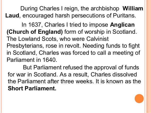 "an overview of the impose of the english episcopal system on scotland Scotland's church: a brief popular history by an by force for the new presbyterian minister imposed upon licensed ""english chapels"" for episcopal."