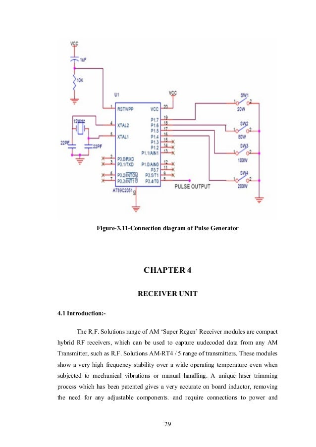 automatic meter reading 12 28 29 figure 3 11 connection diagram of pulse