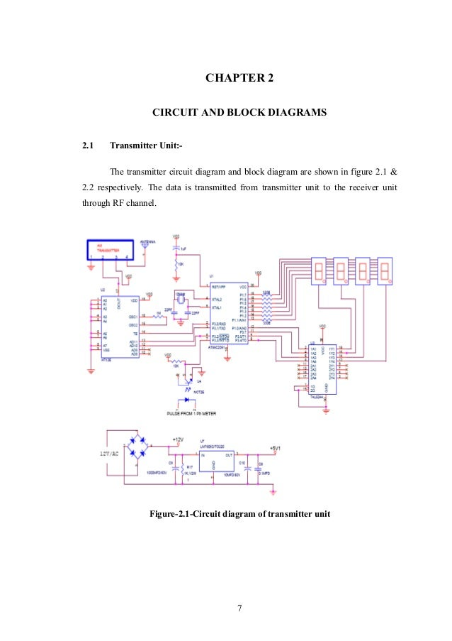 automatic meter reading 6 7 chapter 2 circuit and block diagrams