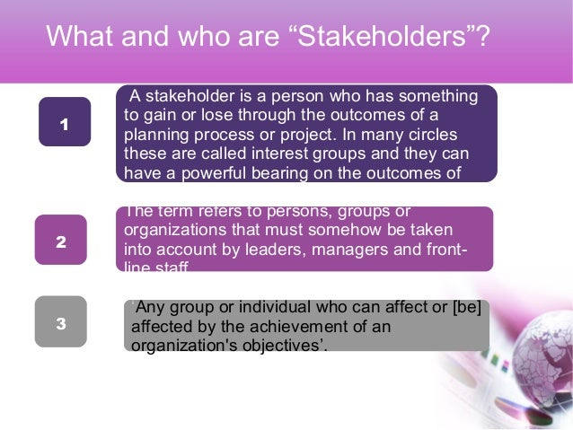 role of a stakeholder External stakeholders also have a critical role to play in sustaining improved  outcomes if they are informed of the school's effort to improve reading outcomes .