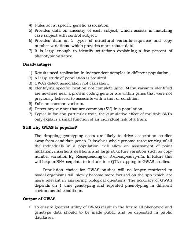 candidate gene case-control association studies advantages and potential pitfalls Read methods for meta-analysis in genetic association studies: a review of their potential and pitfalls, human genetics on deepdyve,.