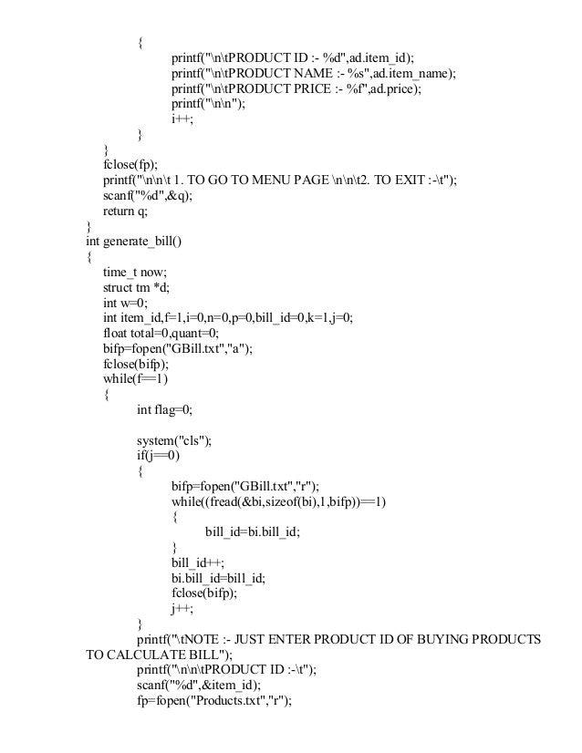 4. 5 menu driven programs.