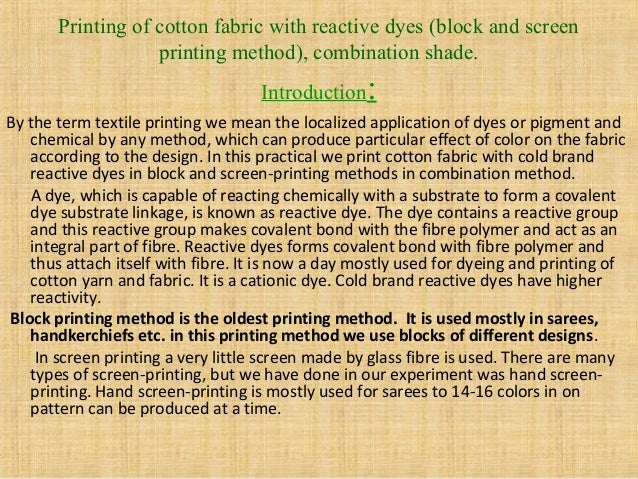 PRINTING WITH VAT DYES EBOOK