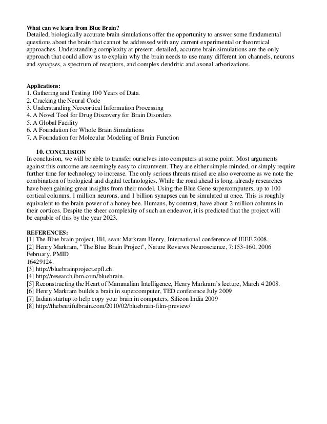 seminar of blue brain doc 2 read this guide (explanatory text is shown in blue) 3 delete items in the template not relevant to your project 4 save the template file with your own project name  training program design  template guidelines  version 20  01-mar-11  training program design template guide sample 30-mar-11.