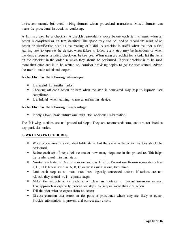 technical writing and presentation skills rh slideshare net Professional Table of Contents Template Employee Manual Template