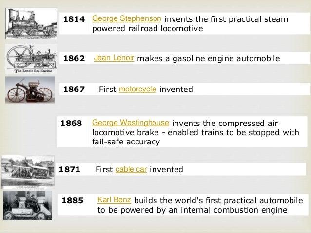 History of Transportation Mode