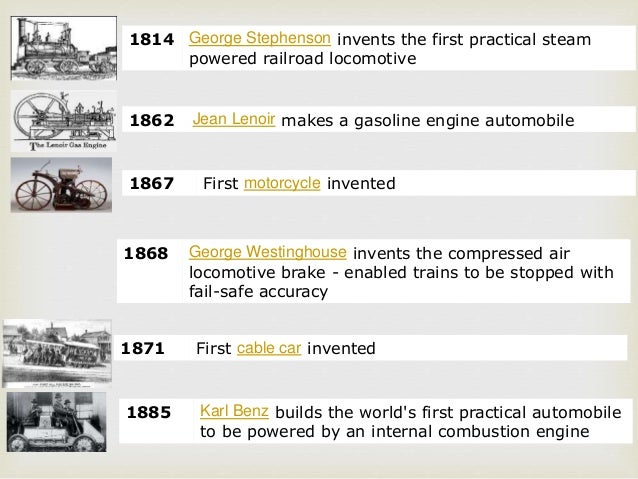 History Of Transportation Mode