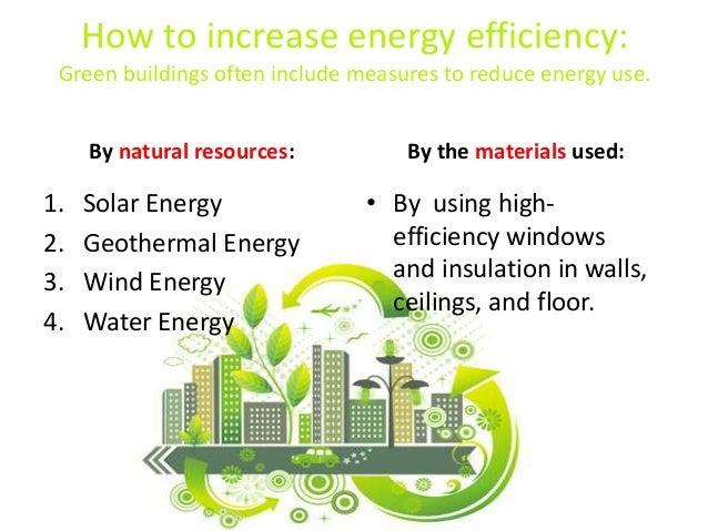 Saving Energy in Green Buildings