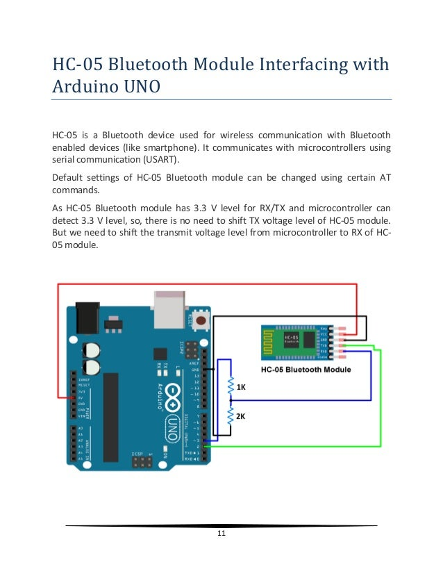 Project report on home automation using Arduino