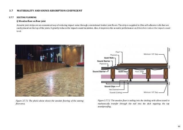 Building Science Auditorium Report