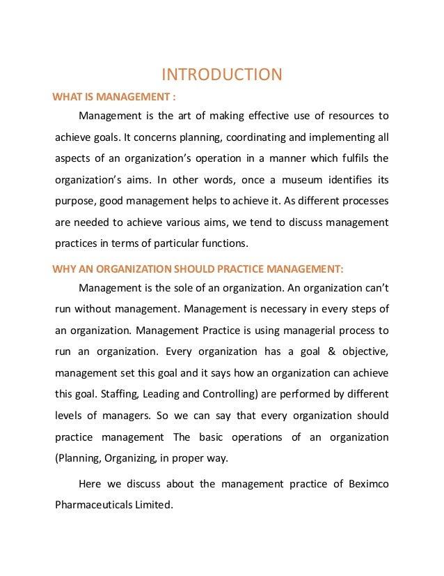 management report pdf