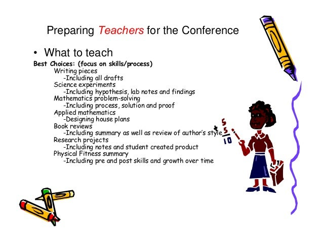writing conference rubric