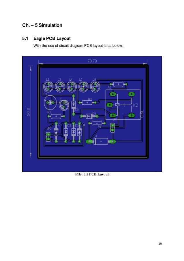 Report Automatic Led Emergency Light