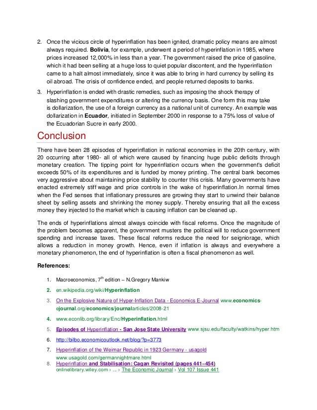 Term Paper Ideas For Macroeconomics