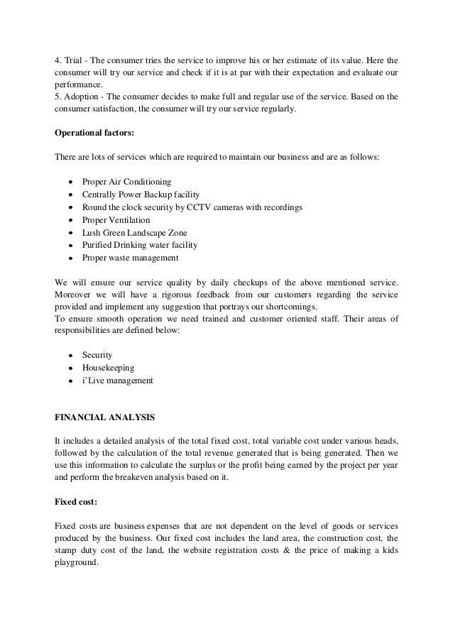 multiplex business plan