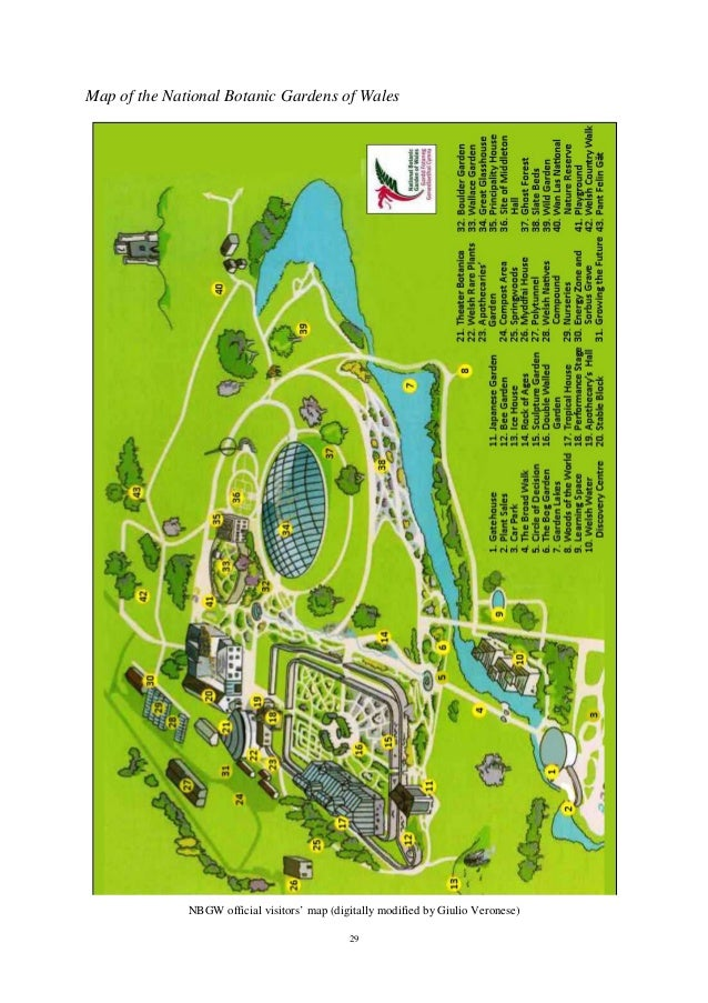 28; 29. 29 Map Of The National Botanic Gardens ...
