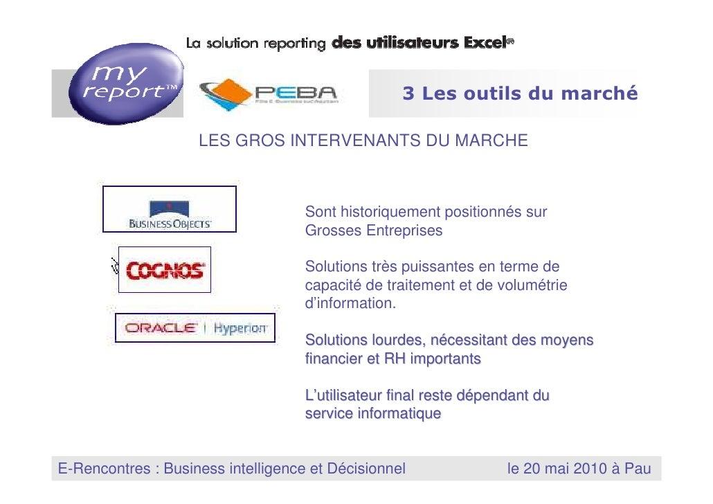 3 Les outils du marché                                          LES GROS INTERVENANTS DU MARCHE                           ...