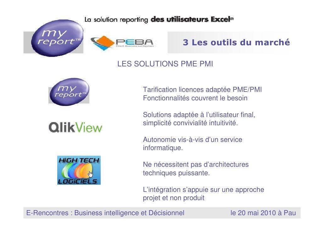 3 Les outils du marché                                          LES SOLUTIONS PME PMI                                     ...