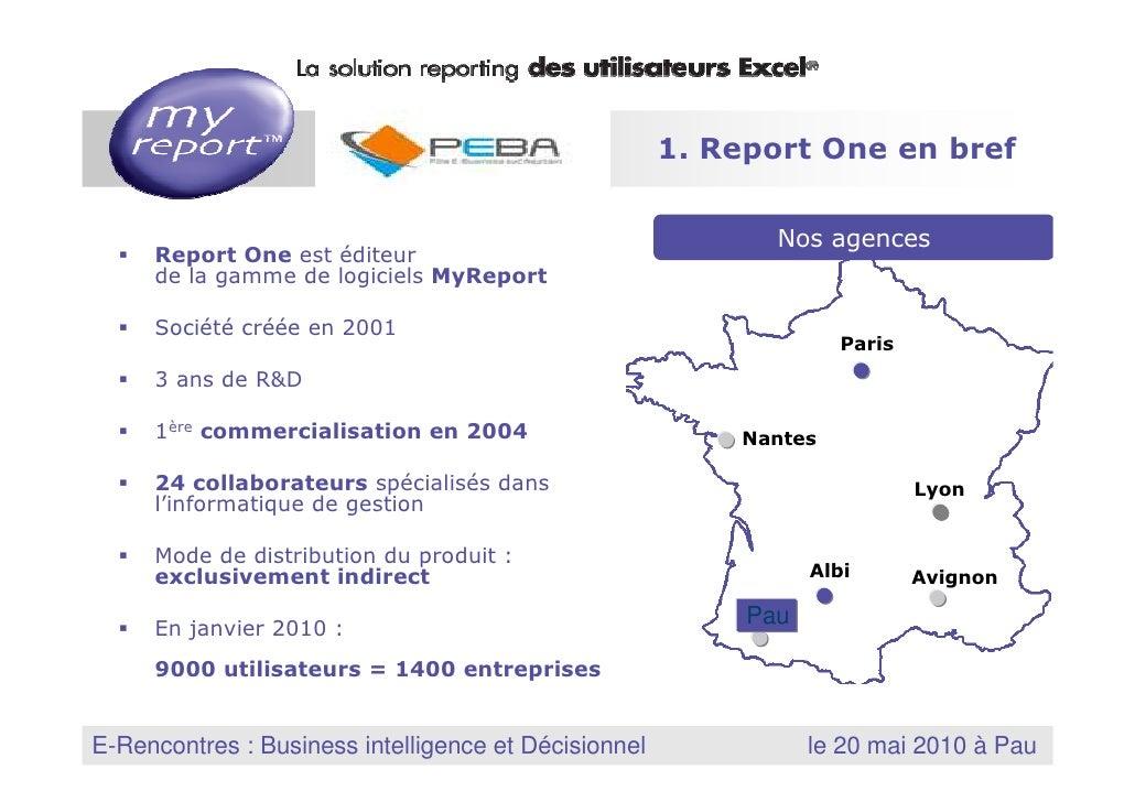 1. Report One en bref                                                                    Nos agences         Report One es...