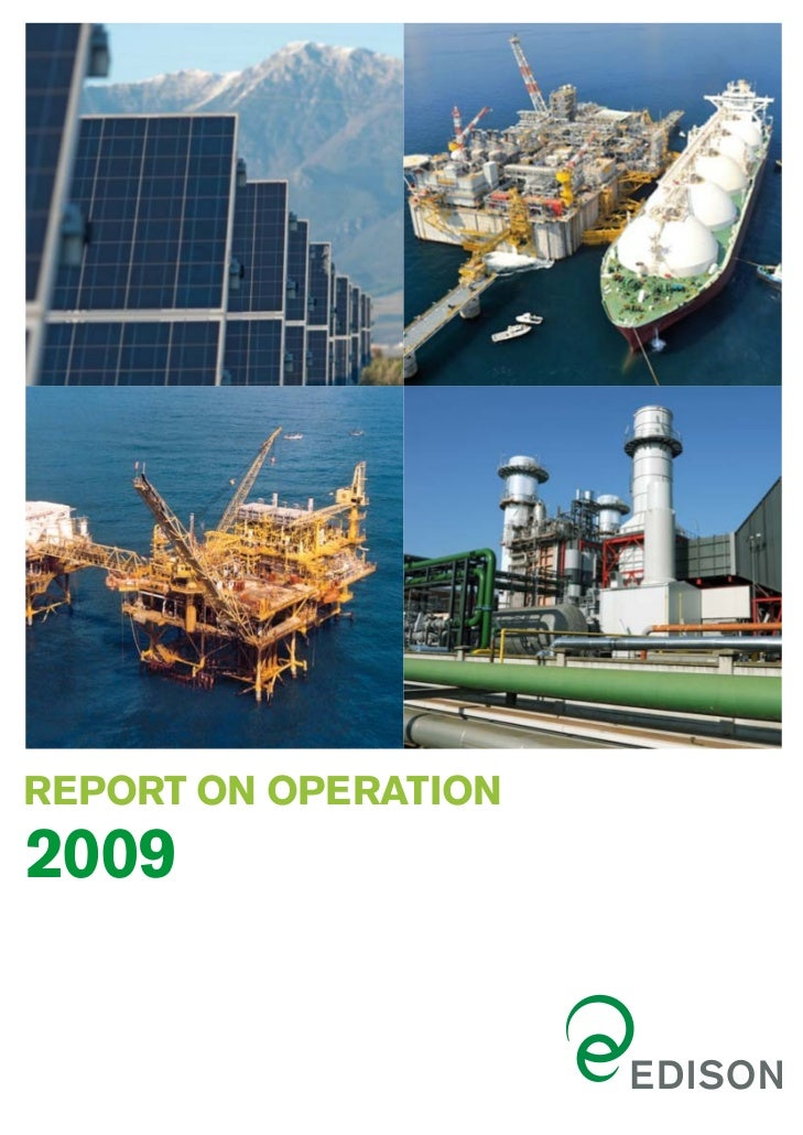 REPORT ON OPERATION2009