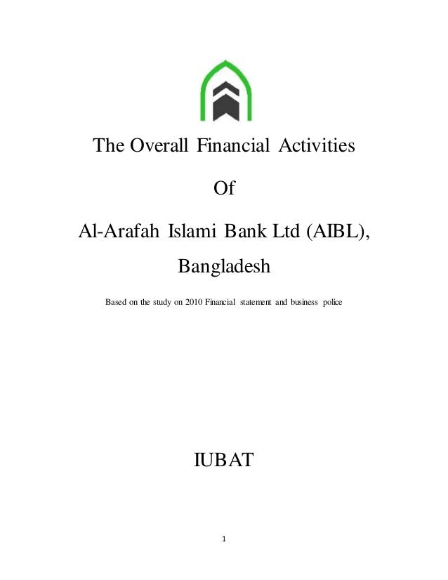Savings with Al-Arafah Islami Bank - Commercial Bank ...