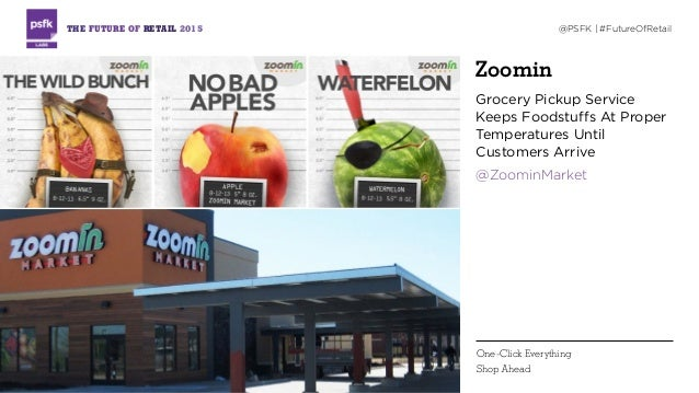 Zoomin Grocery Pickup Service Keeps Foodstuffs At Proper Temperatures Until Customers Arrive @ZoominMarket THE FUTURE OF R...
