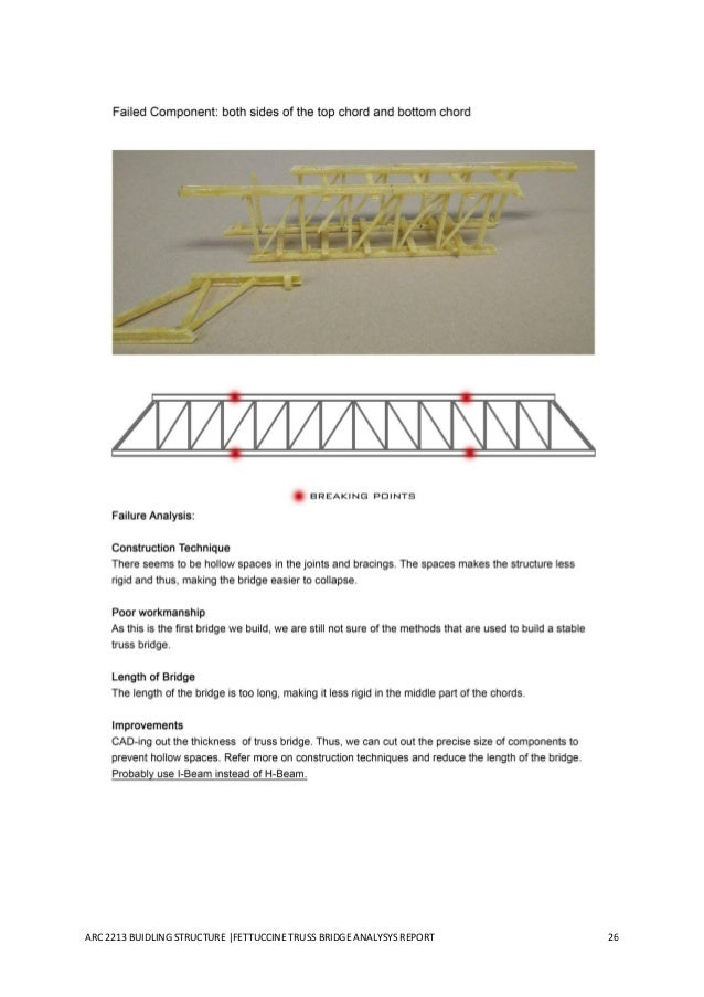 truss bridge report A truss bridge is a bridge whose load-bearing superstructure is composed of a truss, a structure of connected elements usually forming triangular units.