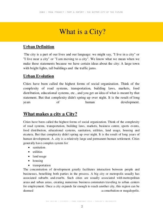 X City Report