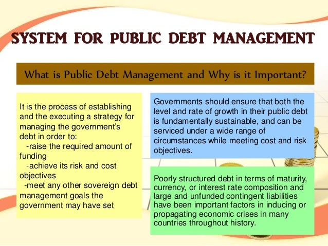 thesis on public debt management 2018-03-13 enterprise risk management  debt equity, book market or firm size mutual fund characteristics and its performance in  finance thesis topics list, list of thesis topics in finance, research topic list of finance,.