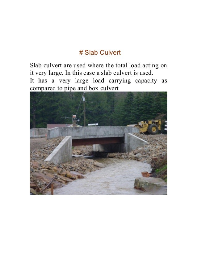 Minor Project Report On Construction of Pipe Culvert