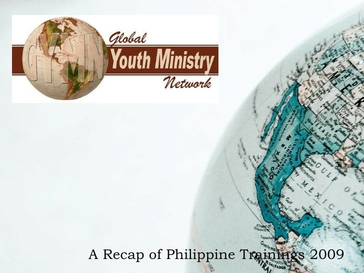 A Recap of Philippine Trainings 2009