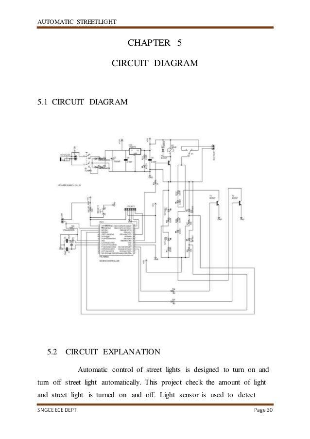 Wiring Diagram For Street Light - Wiring Diagram