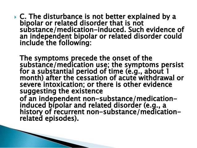 research report on substance related disorders Research in neurology substance-related and addictive disorders7 national center for responsible gaming white paper 4 renaming: from pg to gambling disorder.
