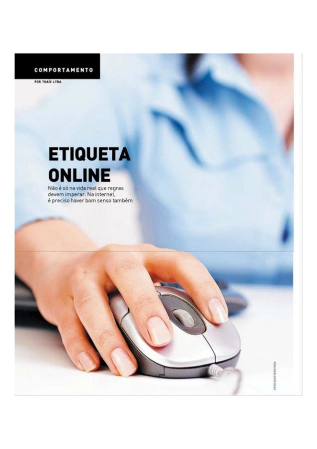Etiqueta na Internet | Entrevista para AT Revista