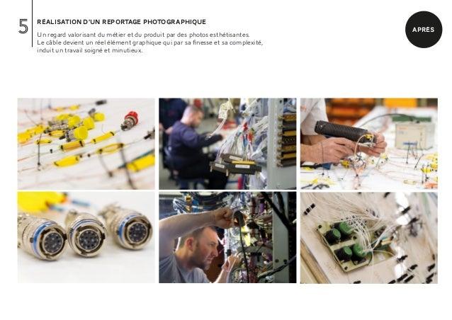 5   réalisation d'un reportage photographique    Un regard valorisant du métier et du produit par des photos esthétisantes...