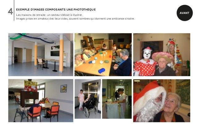 4   exemple d'images composants une photothèque    Les maisons de retraite : un secteur délicat à illustrer.              ...