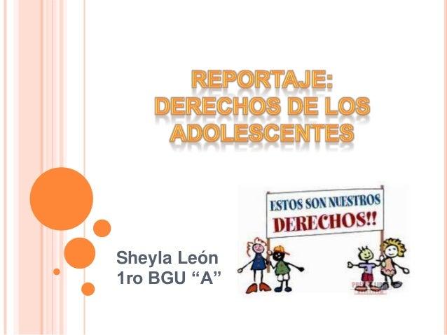 "Sheyla León1ro BGU ""A"""