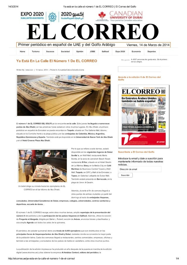 20/ 5 de octubre de 2012 La Palma R. P. UNQUILES dubai redaccion@lcorreo.ae Hablar con Beatriz Escudero, di- rectora ejecu...
