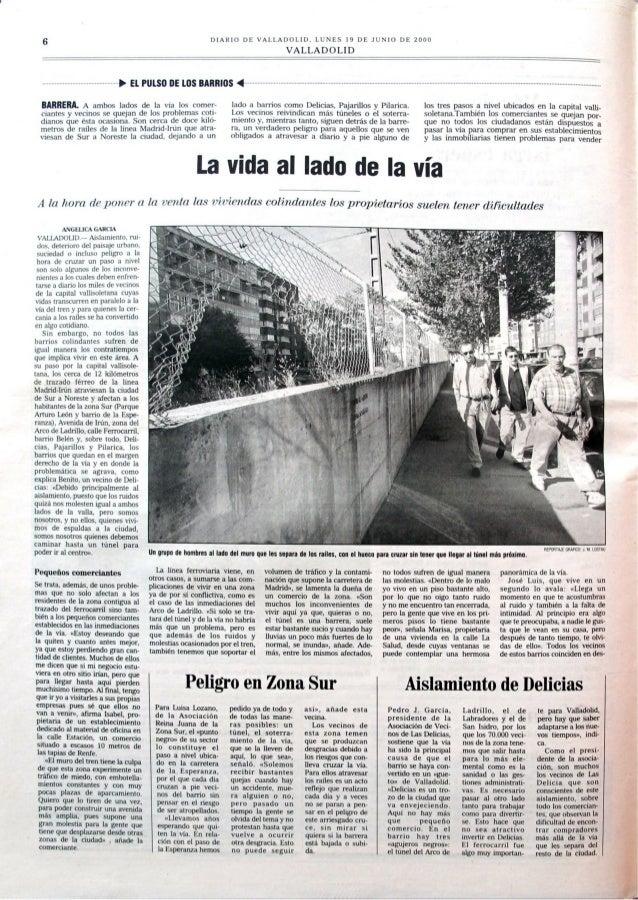lll/ Util) DI'  VALLADOLID.   VALLADOLID  P El.  PULSO DE LOS BARRIOS 4  BMÏÑEM A ambos lados de ln vrrr los ('()ll| ('l'—...