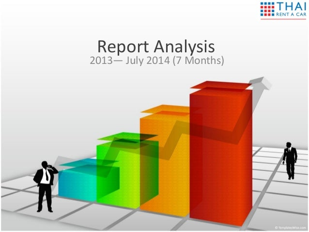 Report Analysis 2013— July 2014 (7 Months)