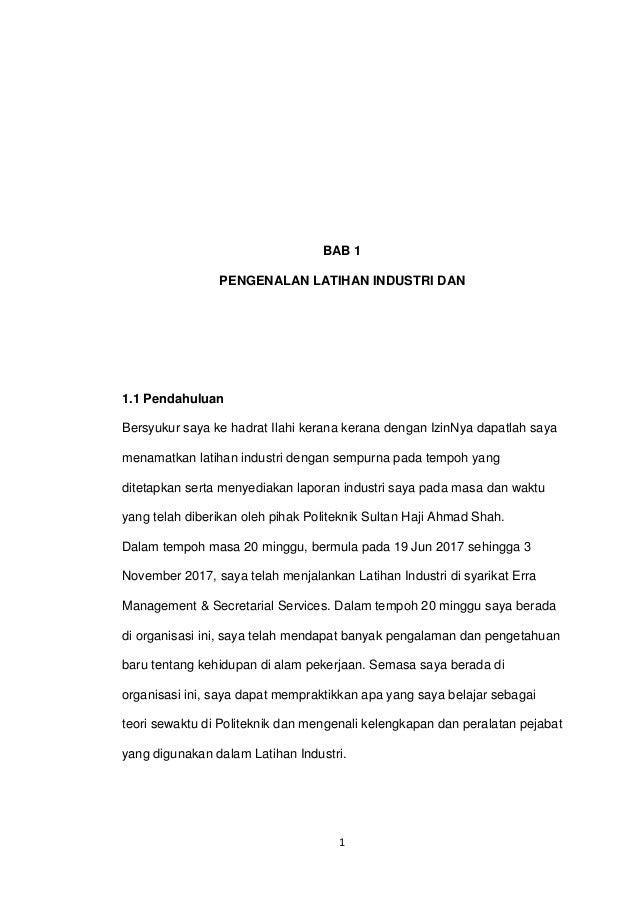 Report Latihan Industri Dsk