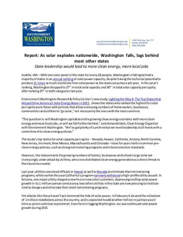 report as solar explodes nationwide washington falls lags behind m