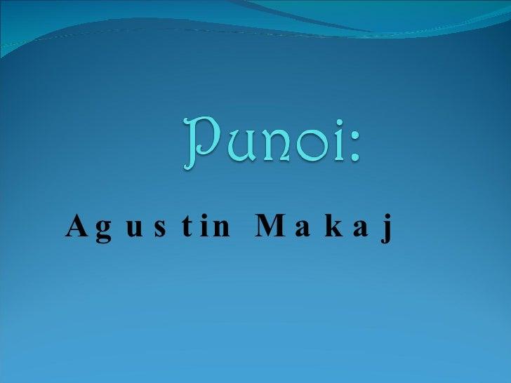 Agustin Makaj