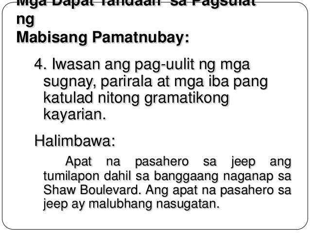 halimbawa ng journalistik na pagsulat Akademik – ito ay isang intelektwal na pagsulat dahil   jornalistik – saklaw nito ang pagsulat ng balita, editoryal, kolum,.