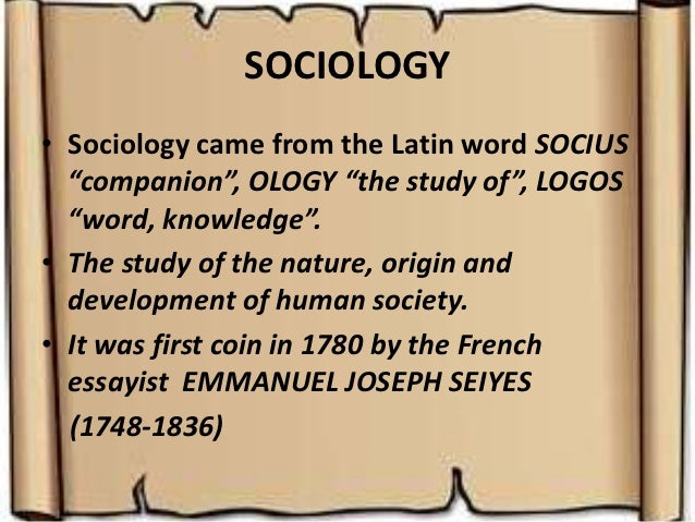 meaning of psychology sociology education educational psychology