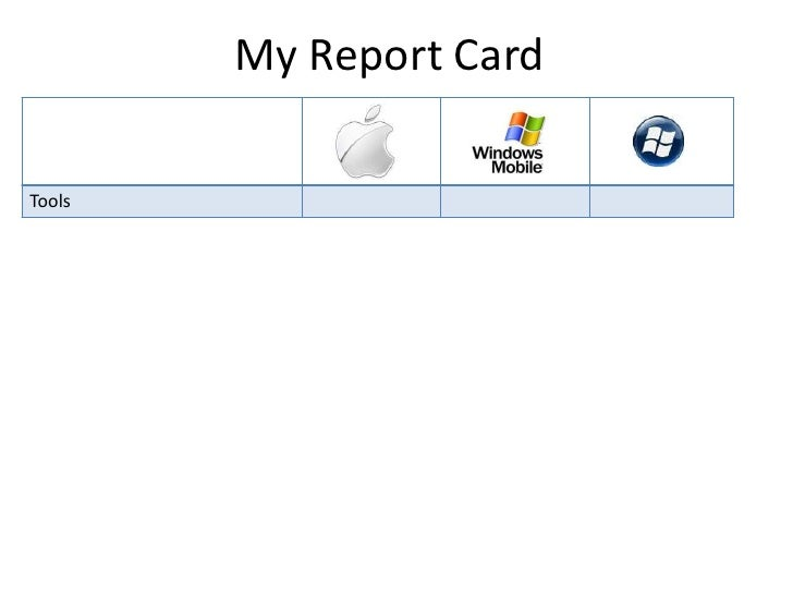 My Report Card<br />