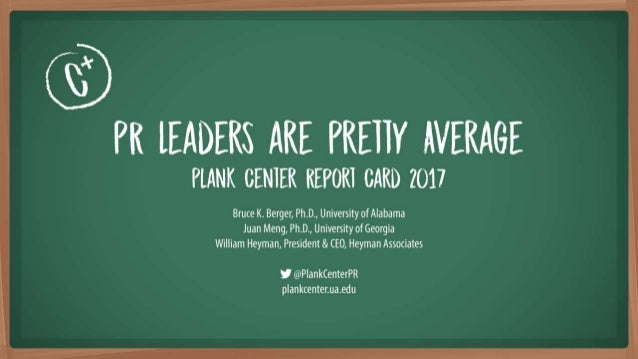 Leadership Report Card (2017)