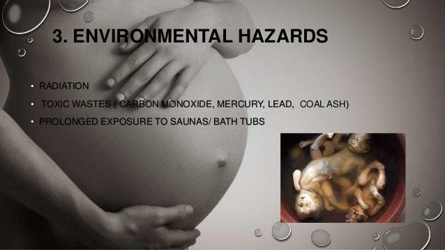 hazards to prenatal development